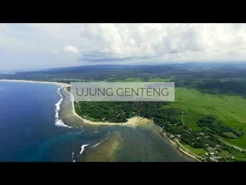 Ujung genteng, Sukabumi - Aerial Footage