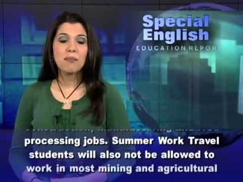 New Rules on US Summer Jobs for Foreign Students 4527