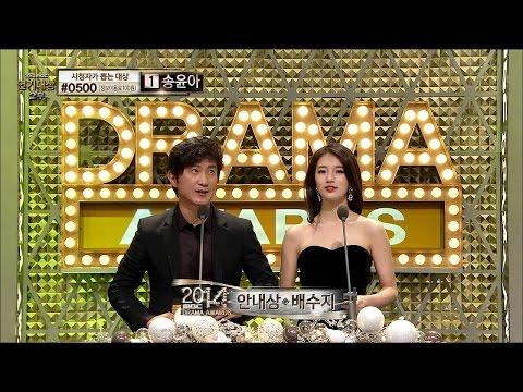 【TVPP】SUZY(Miss A) - Became An Awarder, 수지(미쓰에이) - 시상하러 나온 수지! With 안내상 @ 2014 Drama Awards