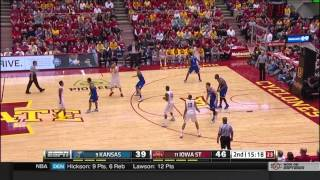 Highlights: Iowa State 86, Kansas 81
