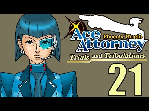 Phoenix Wright Ace Attorney: TaT -21- SHE'S BLUE DABOO DEE
