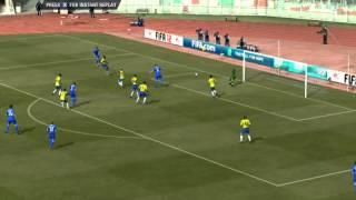 Fifa 12 PC Italy Vs. Brazil HD Half 1 Ep. 3