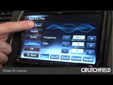 Clarion NX702 Navigation Receiver Display And Controls Demo | Crutchfield Video