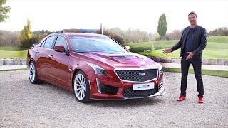 Cadillac CTS-V (640 hp) и ATS-V (470 hp) 2016 Тест-Драйв. Игорь Бурцев