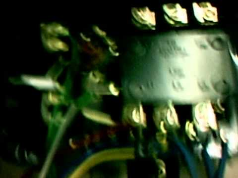 Two Buttons Oil Starter Autoswitch Connection1 Youtube