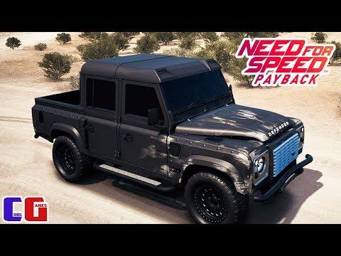 NFS Payback #3 ГОНКИ ПО БЕЗДОРОЖЬЮ Катаюсь на Land Rover Defender в игре Need for Speed Payback