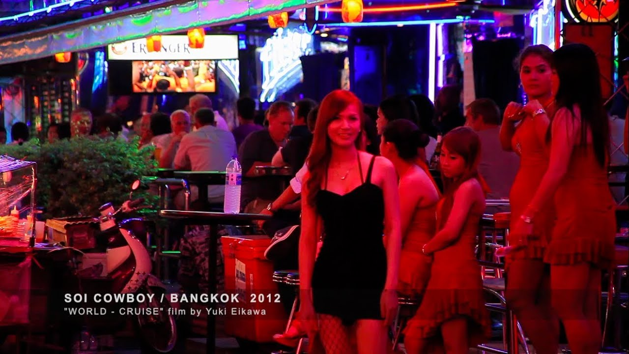 Bangkok 39 s go go bar street soi cowboy doovi for What is the soi