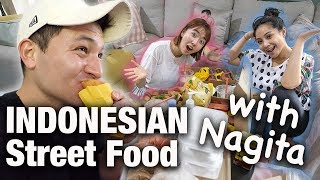 AMERICAN TRIES INDONESIAN STREET FOOD AT RAFFI AND NAGITA'S HOUSE