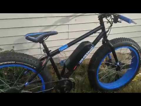 authentisch billig für Rabatt absolut stilvoll Mongoose Dolomite Ebike Fat Bike - Riding the local park