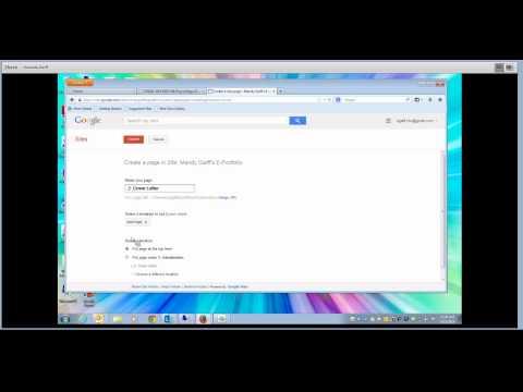 CSS101: Homework Help - How to Create Your E Portfolio