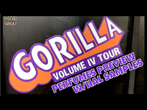 Gorilla Perfumes: Gorilla Gallery Volume Four Perfumes Preview With Hal Samples