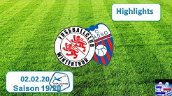 Highlights: FC Winterthur vs Fc Chiasso (02.02.2020)