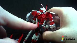 1/144 HG Gundam Astray Red Frame (Flight Unit) Review