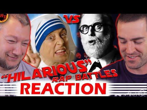 Epic Rap Battles of History REACTION – Mother Teresa vs Sigmund Freud ( ERB )