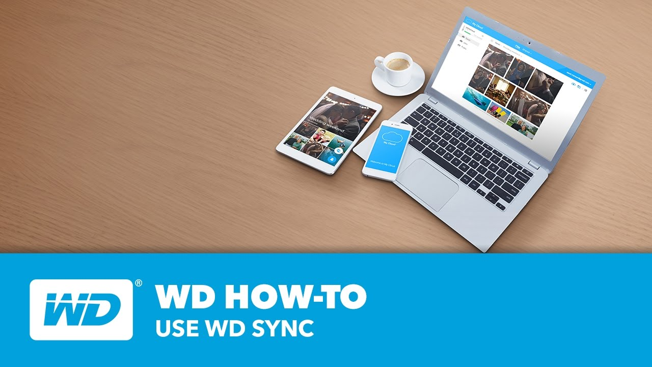 WD How-To: Use WD Sync