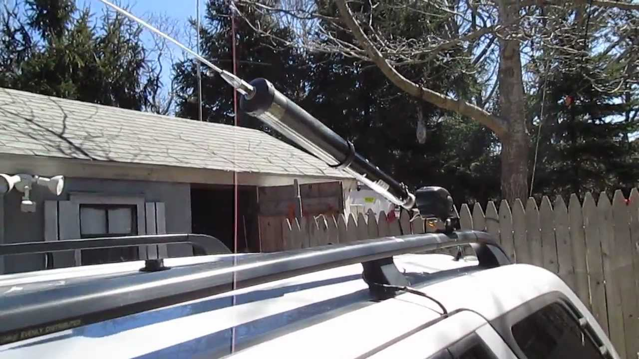 Tarheel On A Diamond K9000 Electric Tilt Mount Youtube