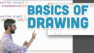 1.3: Basics of drawing - p5.js Tutorial by The Coding Train