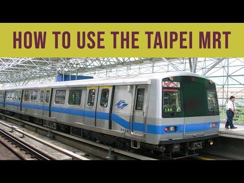 How to Taiwan   Taipei MRT