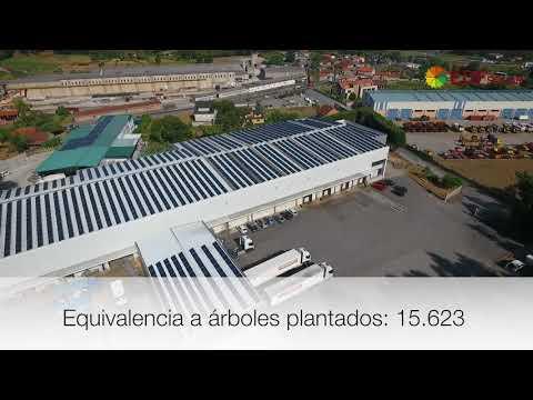 Instalación de autoconsumo industrial en Montiño 2 - EDF Solar