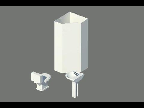 Проект коттеджа с нуля. Часть 27. Инженерные системы. Подготовка модели
