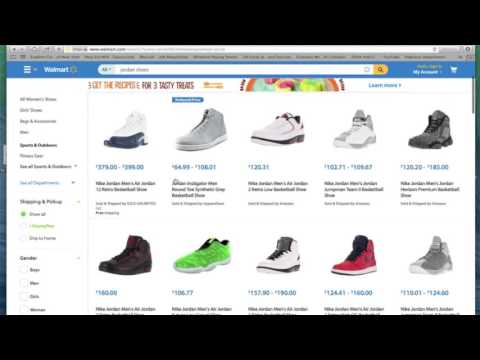 dc1dbd966 Jordans at Walmart - YouTube