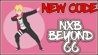 NEW CODE (UPDATE 66 NXB) | ROBLOX | TIP ON GETTING FREE SASUNOO!