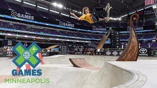 Tom Schaar wins Skateboard Park silver | X Games Minneapolis 2017