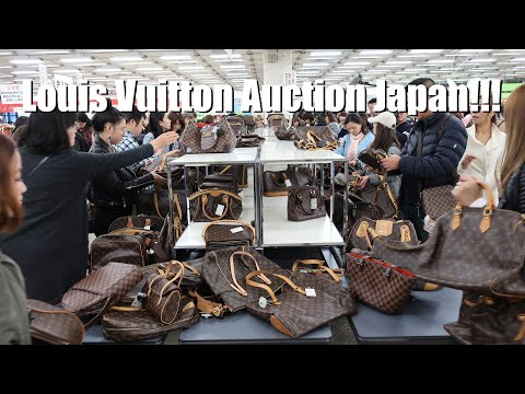 Louis Vuitton Auction in Tokyo Japan
