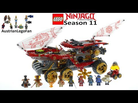 Lego Ninjago 70677 Land Bounty Speed Build