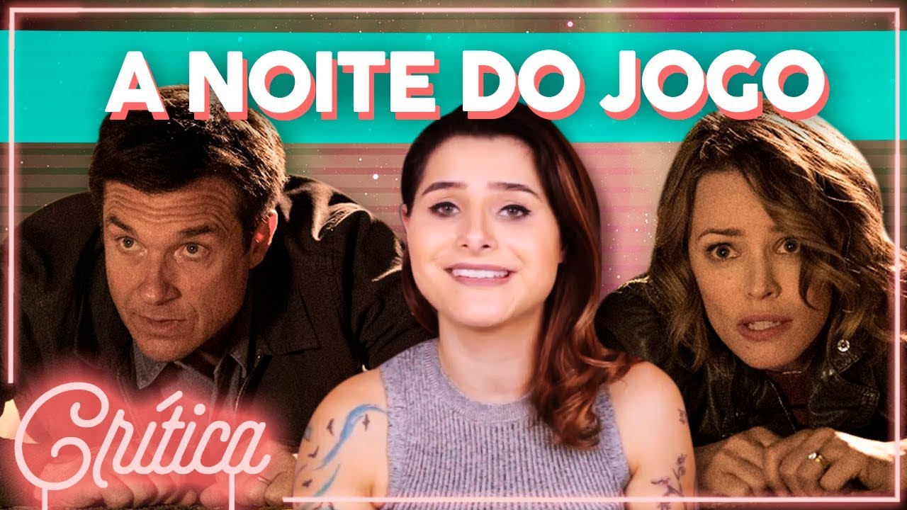 UM FILME DE COMÉDIA REALMENTE ENGRAÇADO! - A Noite do Jogo (Crítica sem spoilers) | Alice Aquino