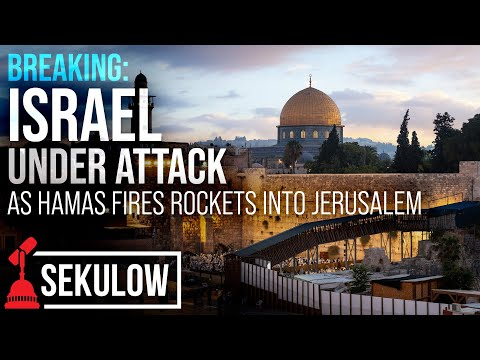 BREAKING: Israel Under Attack as Hamas Fires Rockets into Jerusalem