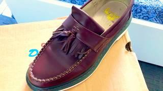 dr. martens adrian tassel loafer vintage  review—onfeet