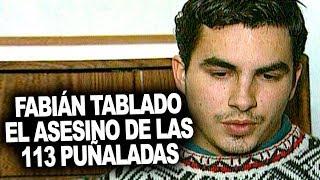 Fabián Tablado: El asesino de las 113 puñaladas liberado