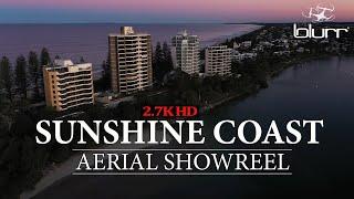 Sunshine Coast Drone Footage   Aerial Showreel 2.7K HD 2020