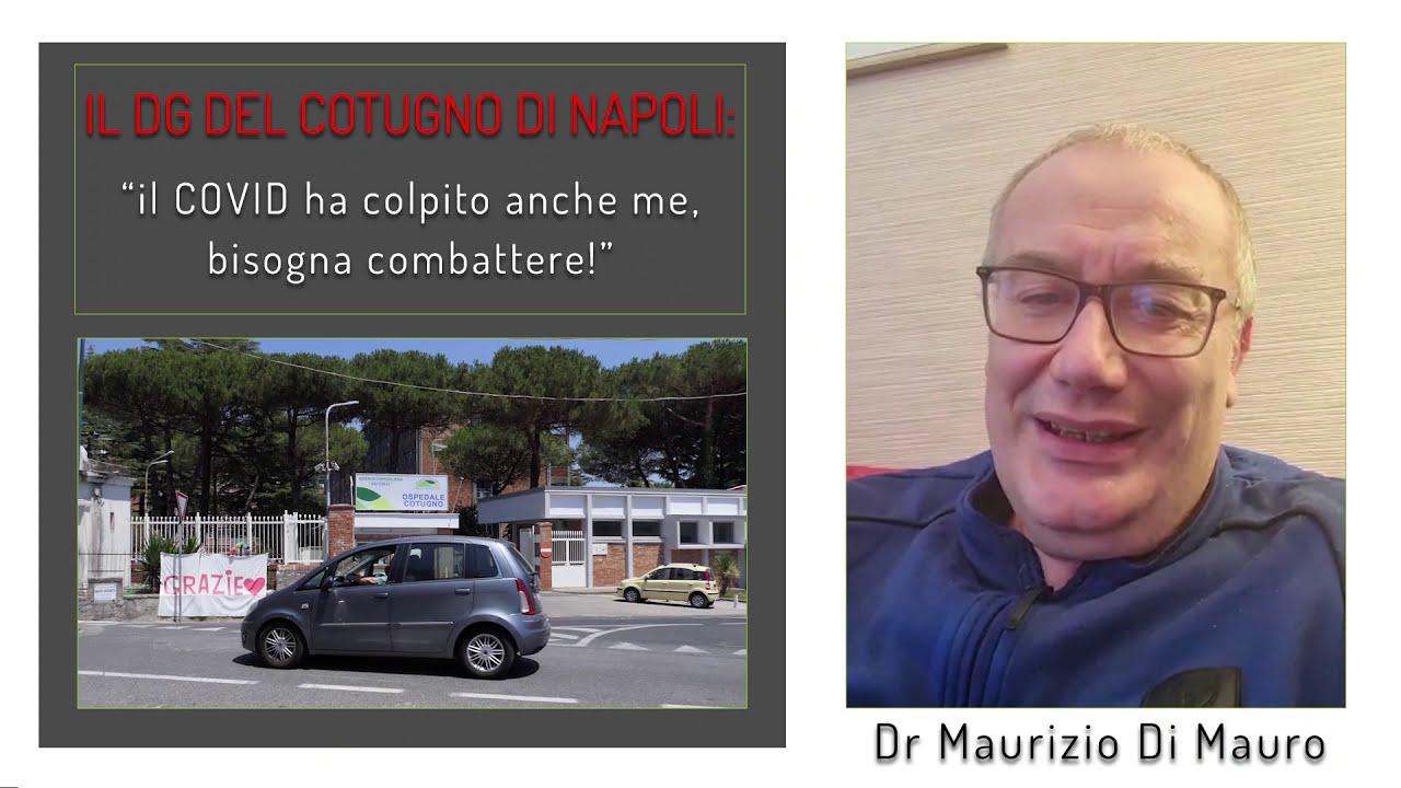 Il COVID ha colpito anche me, il racconto del DG del Cotugno di Napoli