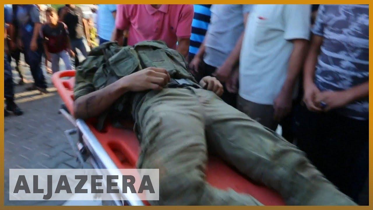 AlJazeera English:Israel kills three Palestinians in besieged Gaza Strip