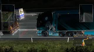 Euro Truck Simulator 2 Волки и Алмаз  Отдых и угар  mp4
