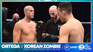 Brian Ortega v Korean Zombie | UFC Fight Island highlights