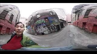 이젠 가상공간 시대 밴쿠버를 삼성기어 360 으로 찍어…