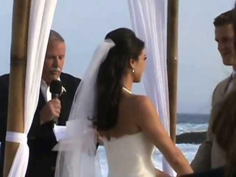 Kristen Grand Entrance ROBO Cabo Beach Wedding May 24 2013