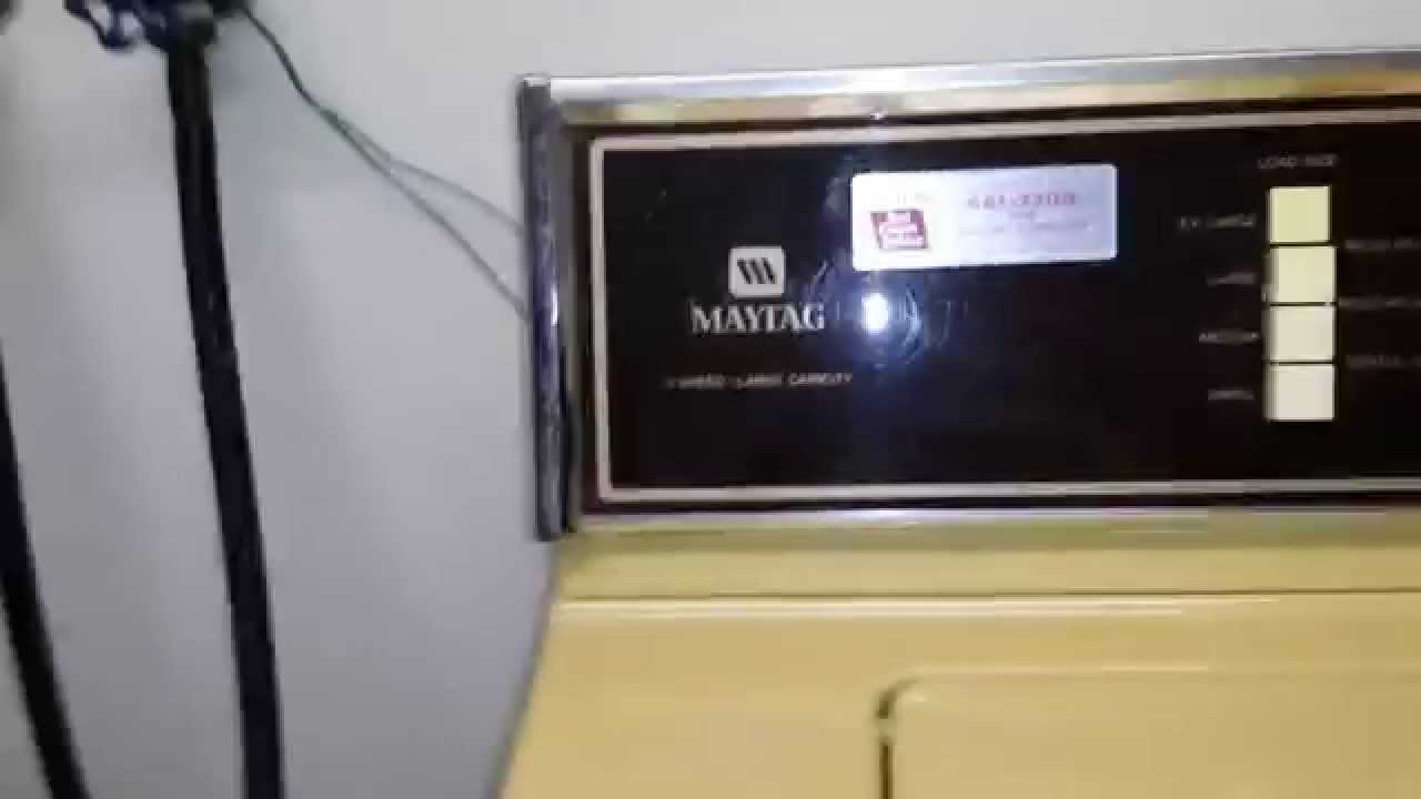 Lookup A Number >> Maytag Top Load Washer GA710 - YouTube