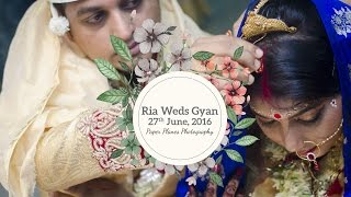 RIA WEDS GYAN | Bengali Cinematic Wedding Video | Paper Planes Photography