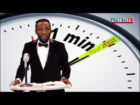 C'est quoi ta Mission sur cette Terre? - Ev Rodrigue Makungu - 1 MINUTE POUR JESUS - PactoleTV
