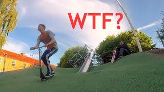 Mega mærkelig skate park! - Vlog 020
