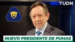"""Exclusiva   Nuevo Presidente de Pumas: """"Al Goya hay que fortalecerlo""""   TUDN"""