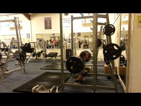 200kg Paused Squat, 140kg Paused Bench