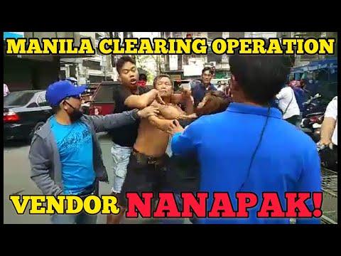 VENDOR NANAPAK SA CLEARING TEAM! | MANILA CLEARING OPERATION