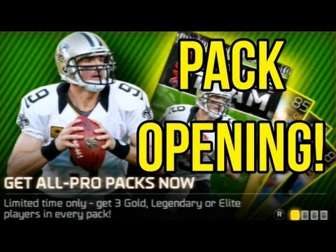 Madden 25 Ultimate Team | 10 All-Pro Pack Opening! Building That Chemistry!