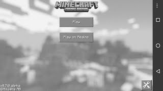 Eski Minecraft pocket edition