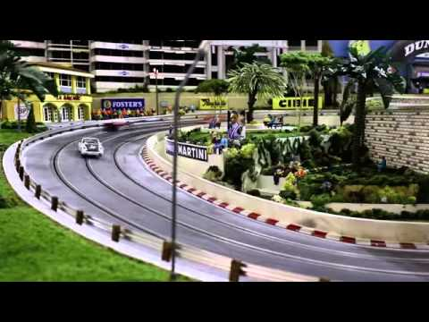 BBC Autos  - Neiman Marcus fields a $300,000 slot car track
